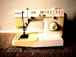 vintage sewing machine custom style