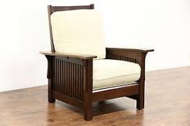 Vintage Recliner Chair Arts U0026 Crafts Mission Oak Vintage Morris Craftsman Recliner Chair