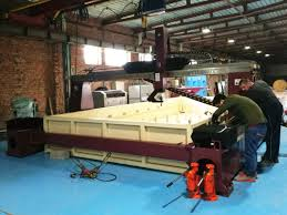 max series 5 axis cnc water jet cutting machine with cutting size