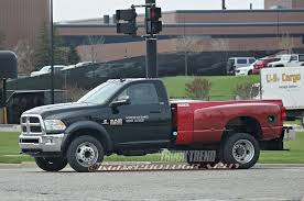 Dodge Ram 5500 - ram spied testing a 5500 heavy duty with a pickup bed