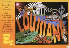 Louisiana Plantations Map by Louisiana Map And Facts Remembering Letters And Postcards