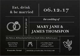 Carlton Wedding Invitations Type On Line White Ink Wedding Invitations