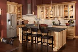 knotty hickory cabinets kitchen knotty hickory shaker country kitchens online marketplace
