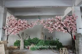 indoor tree for wedding decoration artificial cherry blossom