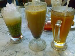 Teh Manis es cendol es kopi es teh manis kafebetawipp foodpic by