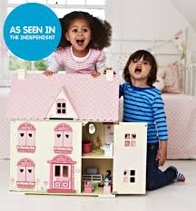 rosebud wooden dolls u0027 house elc 80 out of stock domečky