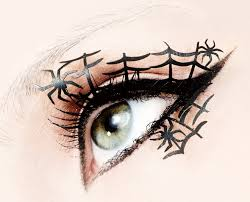 halloween makeup u2013 spider eyelashes u2013 dollz in dubai