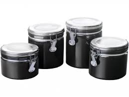 ceramic kitchen black ceramic kitchen canister sets walmart