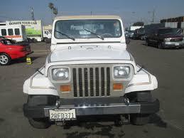 jeep rubicon white sport 1990 jeep wrangler laredo sport utility 2 door 4 2l no reserve for