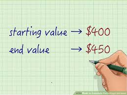 How To Calculate The Needed How To Calculate Percentage Increase 8 Steps With Pictures