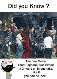 Thor Birthday Meme - dopl3r com memes did you know the new movie thor ragnarok was