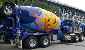kenworth concrete truck cement truck granville island vancouver b c canada jerry u0027s
