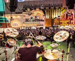 Las Vegas Fremont Street Map by Live Music Fremont Street Experience