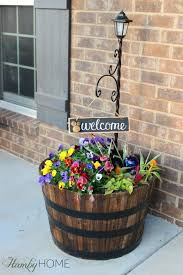 Front Yard Decor Collection Front Porch Flower Bed Ideas Photos Best Image Libraries