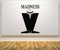 compare prices on music quotes online shopping buy low price hwhd os1624 madness sign motto quote signage ska music wall door decal sticker free shipping