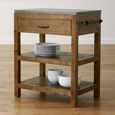 kitchen cart island bluestone reclaimed wood small kitchen island crate and barrel