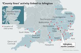 Somerset England Map Suspects From One Area Spread Around Uk In U0027county Lines U0027 Drug