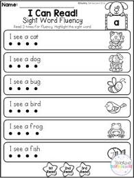 free beginning sound and phonics worksheets for pre and