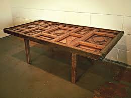 old doors made into coffee tables antique solid pine paneled door made into coffee table urban