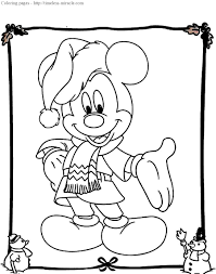 100 ideas mickey christmas coloring pages emergingartspdx