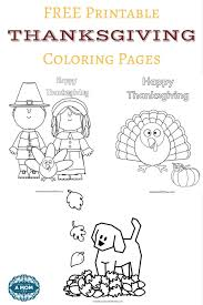 free thanksgiving coloring pages printables kids