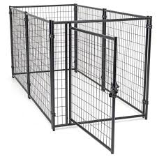 4 Ft W X 8 Ft L Modular Welded Wire Kennel Kit Cl Dog And Dog Pen