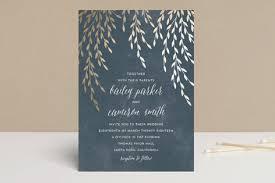 wedding invitations minted foil foliage foil pressed wedding invitations by anupama minted