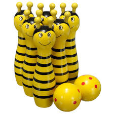 wholesale new sale wooden bowling skittle animal shape