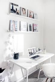 Desk Ideas For Bedroom Best 25 White Desk Office Ideas On Pinterest White Desks Home