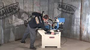 baileigh industrial bs 250m manual bandsaw band saw youtube
