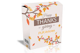 happy thanksgiving plr articles plr database