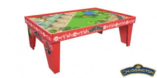 thomas the train wooden track table chuggington ride the rails playtable thomas and friends