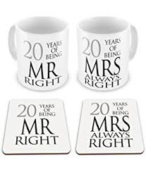 20th wedding anniversary 20th wedding anniversary card co uk kitchen home