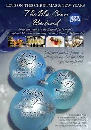 christmas party nights u2013 the blue crown brentwood