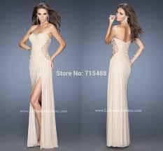 online shopping latest design side slit beautiful chiffon pleats