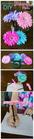 how to make flower pens flower pens craft and flower