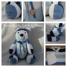 clothes memory bears u203a cwtch u0026 cherish u2039 handmade keepsake
