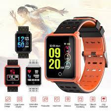 heart health bracelet images Colored screen heart rate monitor blood pressure bracelet smart jpg