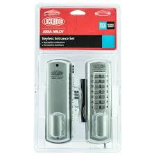 digital locks available from bunnings warehouse