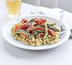 cuisine mascarpone roasted vegetable couscous with mascarpone recipe food