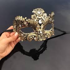 gold masquerade mask gold masquerade mask masquerade mask brocade lace mask