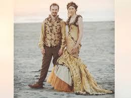 wedding dresses portland woman designs own woodland fairy tale wedding dress 6