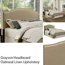 Bed Rails At Walmart Better Homes And Gardens Grayson Linen Upholstered Headboard With