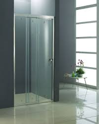 Smart Glass Shower Door 3 Door Folding Smart Glass Shower Door Without Bottom Rail Kd4101
