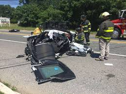 corvette crash a in nj was test driving a corvette crashed it and fled