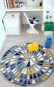 Round Colourful Rugs by Littlebigbell Colourful Bedroom Archives