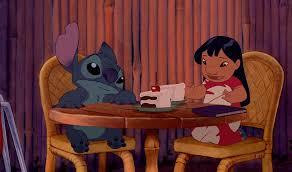 lilo stitch chocolate cake hula scene disneyexaminer