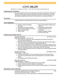 Technician Resume Samples by Pharmacy Technician Resume Samples Free Resumes Tips