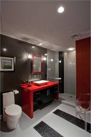 Black And White Bathroom Decorating Ideas by Best 10 Red Bathroom Decor Ideas On Pinterest Grey Bathroom