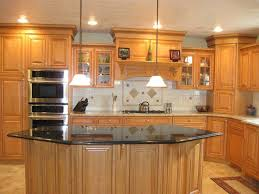 interior decoration wooden kitchen with brown wood kitchen interior decoration wooden kitchen with brown wood kitchen island and black uba tuba granite countertop and brown wood cabinet also l shaped brown wood